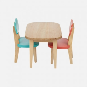 Table & Chairs Toy Set