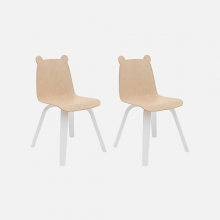 Set Of 2 Bear Chairs
